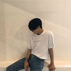 Korean Boys Ulzzang, Cute Korean Boys, Ulzzang Boy, Korean Men, Asian Men, Pretty Boys, Cute Boys, Fotos Tumblr Boy, Boy Fashion
