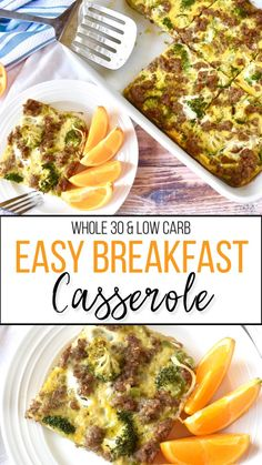 A compliant and keto breakfast casserole that serves as a quick and easy make ahead meal prep option! A compliant and keto breakfast casserole that serves as a quick and easy make ahead meal prep option! Whole 30 Breakfast Casserole, Breakfast Desayunos, Overnight Breakfast, Sausage Breakfast, Healthy Breakfast Recipes, Brunch Recipes, Healthy Recipes, Whole30 Recipes, Whole30 Breakfast Ideas