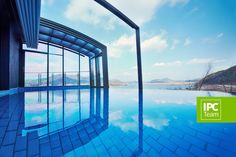 Patio enclosure with a pool in Korea 2