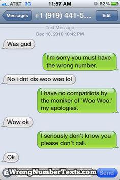 WOO WOO?!  Hahahaha OMG I love my people.