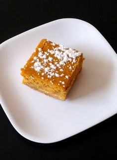 Pumpkin Gooey Butter Cake ~ Paula Deen  This is one of my favorites! My mom made this a few years back at Thanksgiving and I have been making it for my family every year since. :)