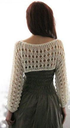 Вязание шрага спицами