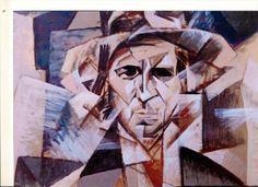 Pablo Picasso portrait of Modigliani