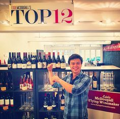 Hard to hide a cheeky grin on Fridays! Even more so today since I'm about to pour a dozen great Pinots to Hong Kong wine lovers. Twelve bottles that I think represent the most approachable and best value for money Pinot Noirs around. Top 12 Wines by Eddie McDougall, The Flying Winemaker