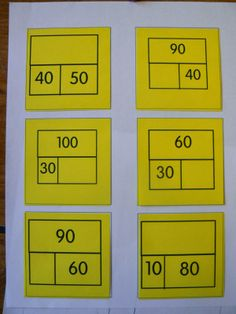 Mrs. T's First Grade Class: Math Whole/Part/Part exit tickets