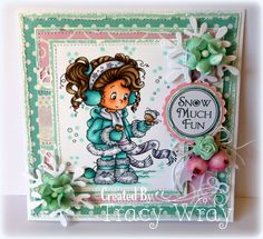 *NEW Jenny [SZWS184] - $8.50 : Whimsy Stamps
