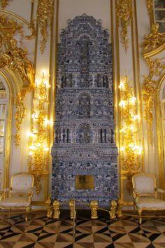 Catherine's Rococo Palace interior- Екатерининский дворец, Tsarskoye Selo (Pushkin), St. Petersburg, Russia. 2013