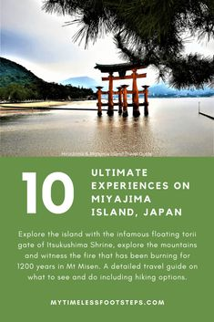 Miyajima Island - 10 Ultimate Experiences not to be missed - My Timeless Footsteps Japan Travel Tips, Bali Travel, Travel Guide, Travel Themes, Travel Ideas, Japanese Travel, Hiking Routes, Miyajima