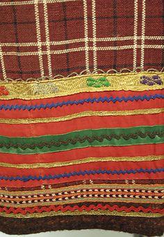 Skirt (detail), ca.1800–1943, Russian, wool