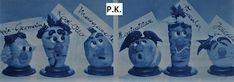 Keiner zu klein,köstlich zu sein !: Zwiebel , Rettich , Kartoffel , Pfirsich , Gelbrü... Bookends, Home Decor, Peach, Asparagus, Pear, Apple, Onions, Decoration Home, Room Decor