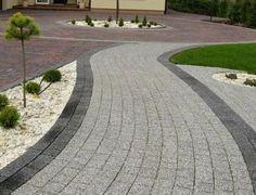 kostka brukowa Garden Planning, Landscape, Sidewalks, Driveways, Ranch, Garden Ideas, Gardens, Google, Houses