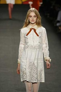 A dress by one of my favorite designers, Anna Sui. It's also a dress I would wear in a heartbeat.
