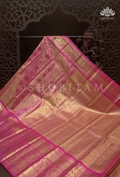 Kanjivaram Sarees, Silk Sarees, Silk Thread, Pink Silk, Color Combinations, Outdoor Blanket, Things To Come, Delicate, Pure Products