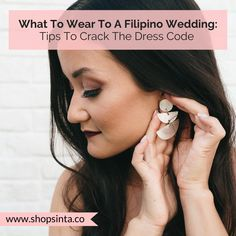 What To Wear To A Filipino Wedding: Tips To Crack The Dress Code – Sinta & Co. Barong Tagalog, Filipino Wedding, Spanish Dress, Filipino Culture, Filipiniana, Stylish Coat, Looking Dapper, Traditional Fashion, Walking Down The Aisle