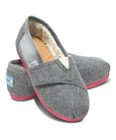 Love this so much I ordered it! From #zulily can't wait to try these woolie Toms on my baby girl!