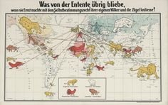 Propaganda alemana contra los imperios coloniales (1916).