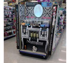 Neutrogena Goes Victorian With Vanity End Cap Display
