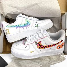 bowling outfit date Air Force One Shoes, Nike Air Force 1, Custom Painted Shoes, Custom Shoes, Nike Custom, Zapatillas Nike Air Force, Souliers Nike, Nike Air Shoes, Sneakers Nike