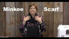 Infinity scarf video tutorial from Jenny Doan at Missouri Quilt Missouri Star Quilt Tutorials, Quilting Tutorials, Sewing Tutorials, Sewing Projects, Quilting Ideas, Sewing Ideas, Sewing Patterns, Sewing Scarves, Sewing Clothes