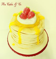 Pan-Cake Cake by Ros Cakes & Co.