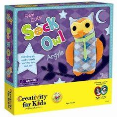 Creativity for Kids Sew a Cute Sock Owl Craft Kit