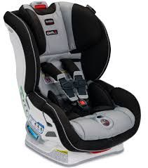 Britax Boulevard (or Advocate) ClickTight *Very easy to install correctly using vehicle seat belt. The only difference between the Boulevard and the Advocate is different side impact protection features. These seats will be outgrown rear-facing by weight (40 lbs.) not by height.*