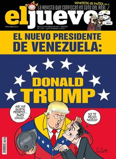 Political Humor And Memes -The cover page of a satire spanish magazine Political Memes, Politics, Donald Trump, Cover Pages, Satire, Cancer, Magazine, Digital, Blog