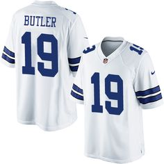 Nike Limited Brice Butler White Youth Jersey - Dallas Cowboys  19 NFL Road  Greg Olsen fb311e9726d