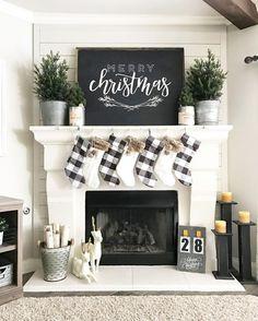 60 Cute Farmhouse Christmas Decor Ideas