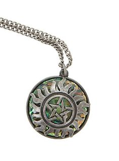 Supernatural Anti-Possession Galaxy Stone Necklace,