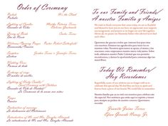 wedding itinerary templates free wedding reception programs