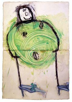 Ida Applebroog - drawings