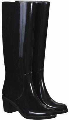 High Heel Boot, Black Black Heel Boots, High Heel Boots, Heeled Boots, High Heels, Rubber Rain Boots, Shoes, Fashion, Moda, Shoe