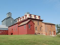 Not a grain elevator, but close enough for me.  Neligh Flour Mill - Neligh, Nebraska. - Photo by Nebraska Farm Boy.