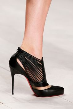 Brilliant Luxury Christian Louboutin Miss Taos Beaded Pumps SS 2016 Stilettos, High Heels, Pumps, Black Heels, Hot Shoes, Crazy Shoes, Me Too Shoes, Zapatos Shoes, Shoes Sandals