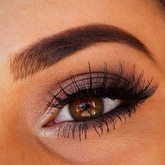 plum smokey eye with inner shimmer - gorgeous! ~ we ❤ this! moncheriprom.com