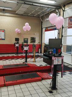 #pinkwipers #breastcancerawareness #cancer #pinkout #wipeoutbreastcancer #pink #dog #Valvoline #oilchange #autotex #speedy