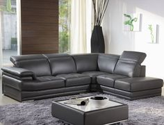 full leather sectional sofa