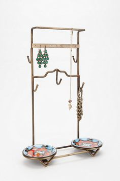 Urban Outfitters - Enameled Dish Jewelry Stand