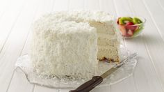 Key Lime Coconut Angel Cake...   Who can resist this heavenly dessert  when it's so easy to make?