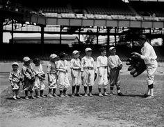Baseball, National Jrs., July 21, 1924. Photographer on 4x5 glass plate negative by the National Photo Company.