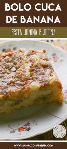 Banana Cuca Cake Recipe, prepare a treat to enjoy St. Easy Smoothie Recipes, Easy Smoothies, Good Healthy Recipes, Healthy Snacks, Stay Healthy, Coconut Recipes, Food Shows, Healthy Nutrition, Nutrition Guide