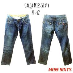 Calça Miss Sixty  N ° 42  Estilooooosa 😎  🆙Atendimento c ⏰marcada  📞 Whatsapp  31 8729-0249  💳 Aceitamos débito e cred   #miss #promocao  #misssixty #jeans #style #uohbrecho #brecho #2hand #moda #instagood #pretty #style #girl  #love #follow #cool #good #cute #follow #fashion #fun #igers  #ootd #blogger #inlove #model #blog #belohorizonte #brasil