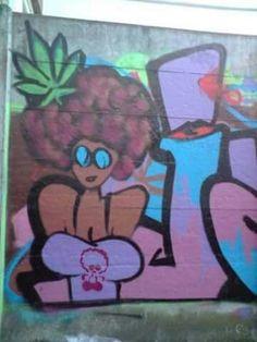 Graffiti wet willie