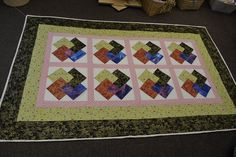 product of out quilting classes!