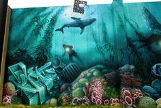 Deep Sea Graffiti Relic - Stare, Montreal