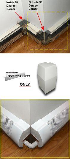 slimline hot water radiant baseboard heating panels attic ideas pinterest baseboard. Black Bedroom Furniture Sets. Home Design Ideas
