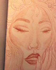 """""""Angel jimenez, Hill, Semester 1, 2017-2018, 5.5x8.5, colored pencils on strathmore mixed media sketchbook, Sketchbook page"""""""