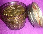 """Face Scrub / Body Scrub - """"Shiny Scrub"""" - Charcoal, Oatmeal and Brown Sugar Scrub with Optional Essential Oils  6 ounce jar 8.99 //// 8 ounce jar 10.99"""