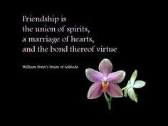 Friendship is a very powerful bond...